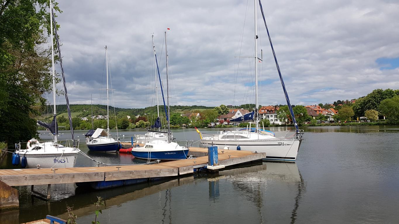 Die SKMW-Hafenanlage